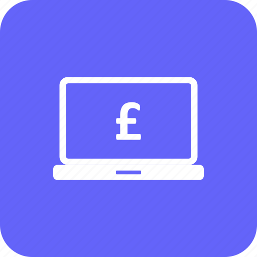 banking, currency, exchange, financial, homebank, payment, pound icon