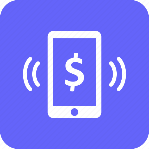 currency, dollar, mobile, mobile pay, pay, scan icon