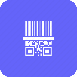 banking, bar code, finance, invoice, payment, qr code, scan icon