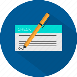 banking, bill, check, finance, payment icon