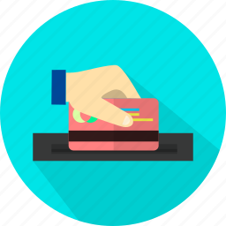 banking, credit, finance, method, payment icon
