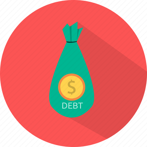 banking, cash, debt, finance, money, pay, payment icon