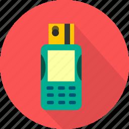 banking, capture, data, electronic, finance icon