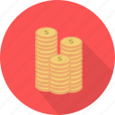 banking, cash, currency, dollar, finance, money icon