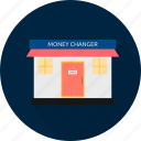 banking, cash, changer, dollar, finance, money icon