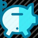 bank, funds, money, piggy, piggybank, savings