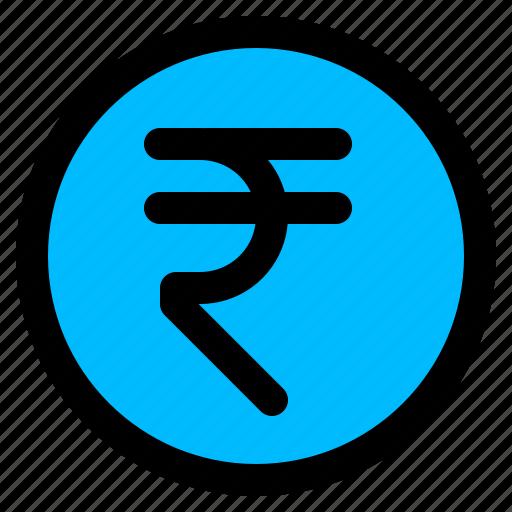 india, indian, money, rupee icon
