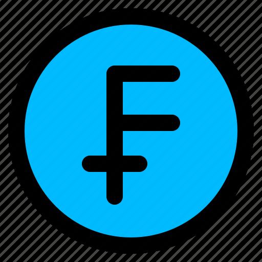 franc, france, money icon