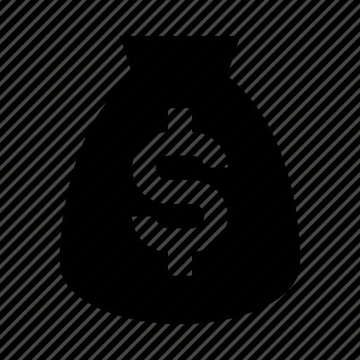 bag, finance, money, usd icon