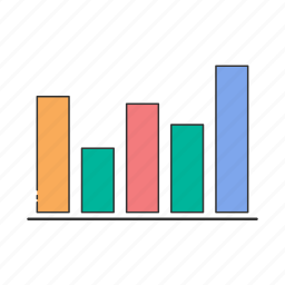 analytics, bar, chart, graph, report, stats icon