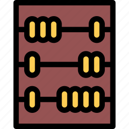 abacus, bank, business, currency, finance, money icon