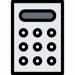 bank, business, calculator, currency, finance, money icon