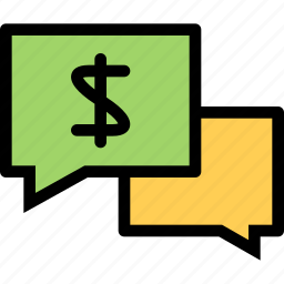 bank, business, currency, finance, money, money talk icon