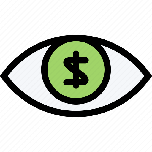 bank, business, currency, finance, money, money vision icon