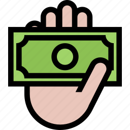 bank, business, currency, finance, money, payout icon