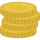 bitcoin, cash, coins, crypto, cryptocurrency, currency icon