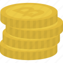 bitcoin, cash, coins, currency icon