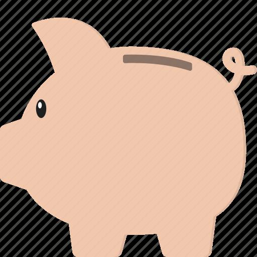 budget, money, piggy bank, piggybank, savings icon