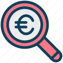 finance, currency, money, euro, find, search