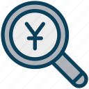 finance, currency, money, yen, find, search