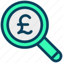 finance, currency, money, pound, find, search