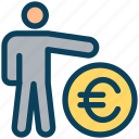 finance, currency, money, euro, account, user