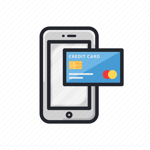 apps, card, fin-tech, finance, mobile, transaction icon