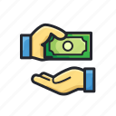 cashback, finance, money, pay, purchase, transaction icon