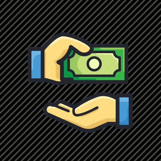cashback, finance, money, pay, purchase, transaction icon