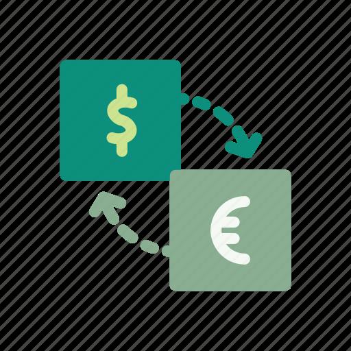 bank, coin, credit, finance, financial, kurs, money icon