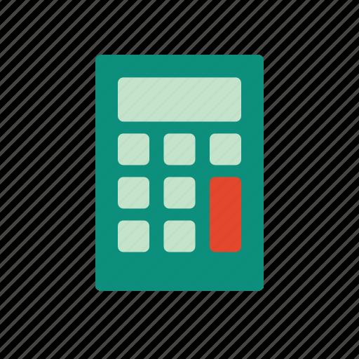 bank, calculator, coin, credit, finance, financial, money icon