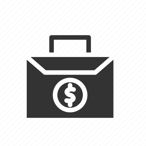 bag, bank, coin, credit, finance, financial, money icon
