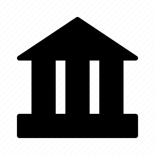 bank, building, cash, finance, money icon