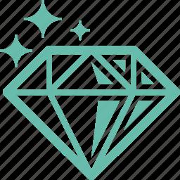 diamond, gem, gemstone, jewelry icon