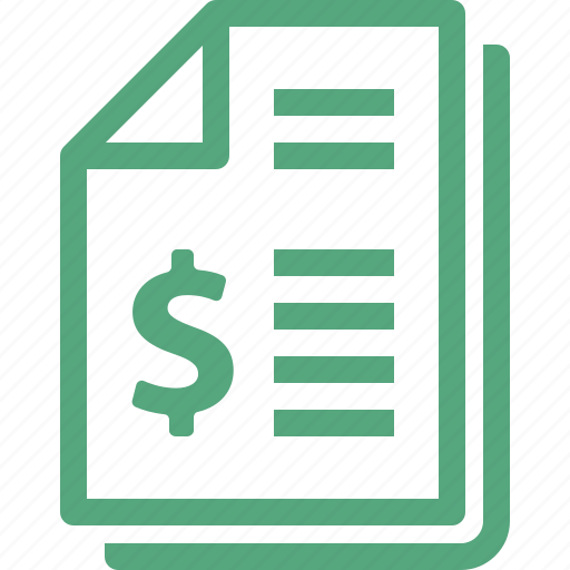 Bill, finance, invoice, receipt icon | Icon search engine