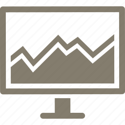 analytics, financial graph, profit, statistics icon