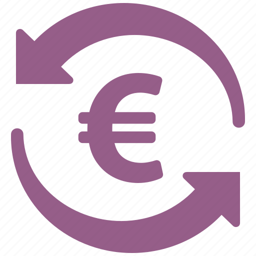 Euro, finance, transaction, transfer icon | Icon search engine