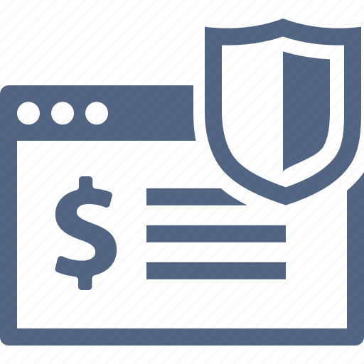 finance, safe payment, secure transaction, security icon