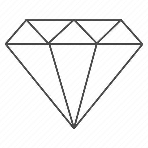 bank, banking, diamond, finance, jewelry, money, value icon