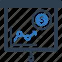 budget, conference, finance, presentation, profit