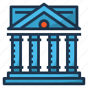bank, bankbuilding, banking, building, finance icon