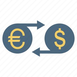 change, conversion, currency, exchange, money, transfer icon