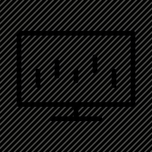 analytics, bank, cash, finance, money, sales icon