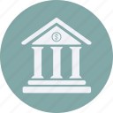 bank, business, cash, currency, finance, money icon