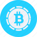 bitcoin, business, cash, currency, finance, money icon