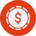 business, cash, currency, doller, finance, money icon