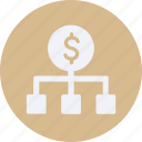 business, cash, currency, exchange, finance, money icon