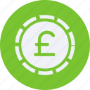 business, cash, currency, finance, money, pound, sterling icon