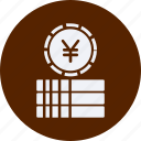 business, cash, currency, finance, money, yuan icon