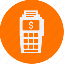 business, cash, currency, finance, money, point, service icon